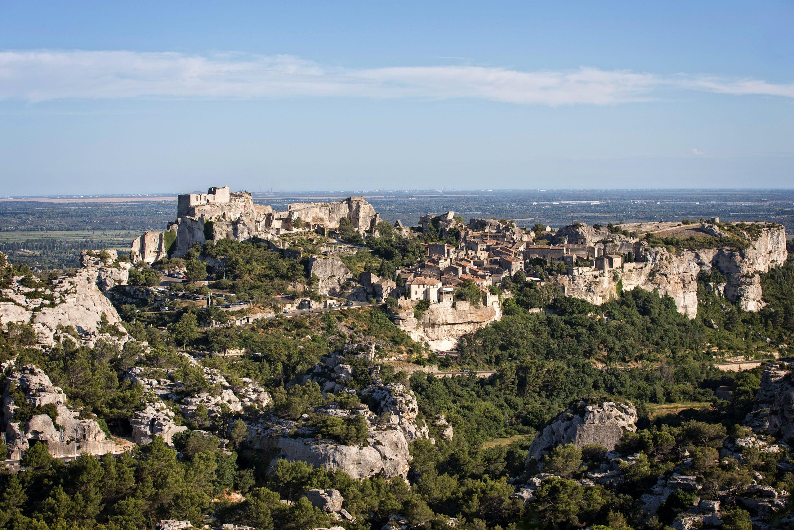 Baux De Provence Village Sud France